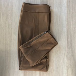 Anthropologie essential slim trouser stretch NWOT
